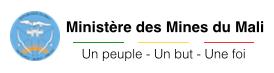 Logo ministère des mines du Mali